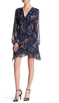 Adelyn Rae Woven Printed Ruffle Dress