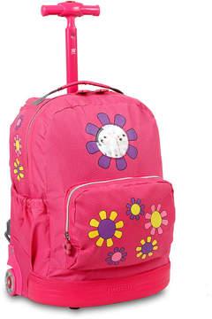 J World Daisy Wheeled Backpack