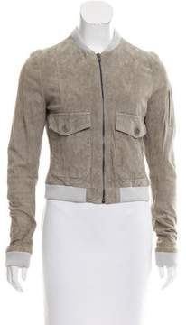 Boy By Band Of Outsiders Suede Bomber Jacket