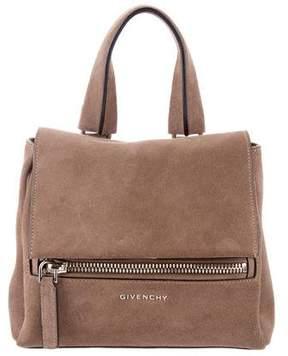 Givenchy Mini Suede Pandora Pure Satchel