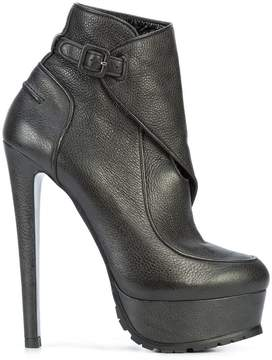 Vera Wang wrapped ankle boots