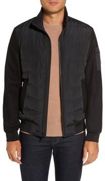 Michael Kors Men's Mixed Media Quilted Jacket