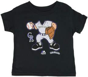 Majestic Toddler Boys' Colorado Rockies Pint-Sized Pitcher T-Shirt