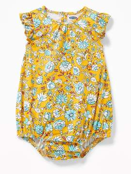 Old Navy Flutter-Sleeve Bubble Romper for Baby