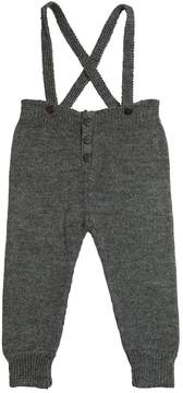 Oeuf Tricot Baby Alpaca Pants W/ Suspenders