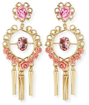Dannijo Samara Golden Statement Earrings