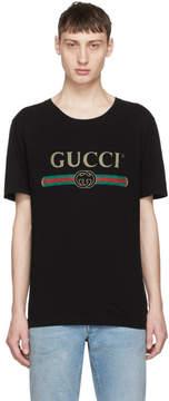 Gucci Black Classic Logo T-Shirt