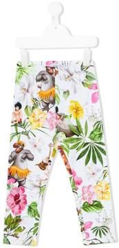 MonnaLisa The Jungle Book print trousers