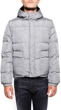 Prada Linea Rossa Nylon Bomber Jacket
