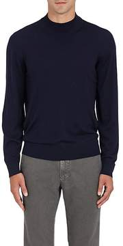 Luciano Barbera Men's Wool Mock Turtleneck Sweater