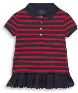 Ralph Lauren Toddler's Striped Polo Top