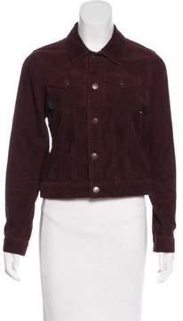 Anna Sui Long Sleeve Corduroy Jacket