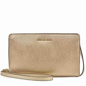 Michael Kors Large Jet Set Travel Convertible Crossbody -Plae Gold - GOLDS - STYLE