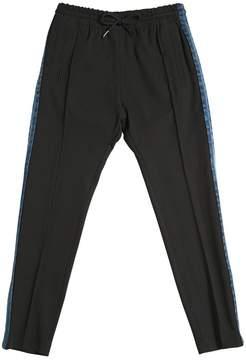 Diesel Milano Jersey Pants W/ Denim Sides