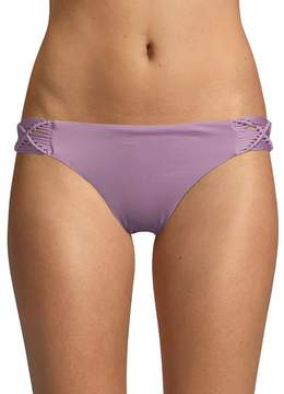 Dolce Vita Women's Macrame Bikini Bottom
