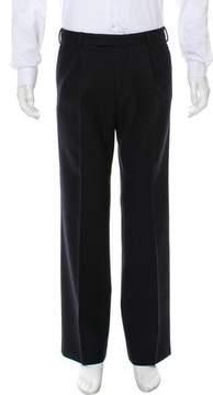 Dries Van Noten Flat Front Casual Pants