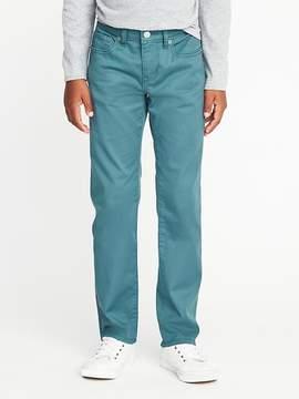 Old Navy Slim Built-In Flex Max Pop-Color Karate Jeans