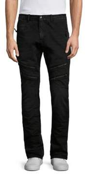PRPS Savoy Slim Straight Moto Pants