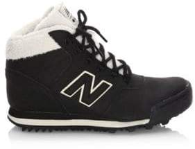 New Balance Q4'17 Leather High-Top Sneakers