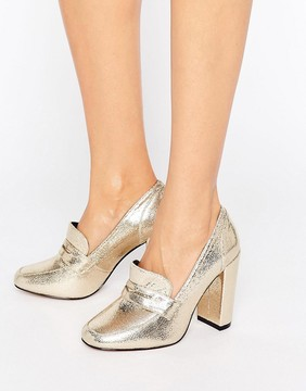 Asos PAMELA Heeled Loafers