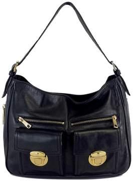Marc Jacobs Black Leather Shoulder Bag - BLACK - STYLE