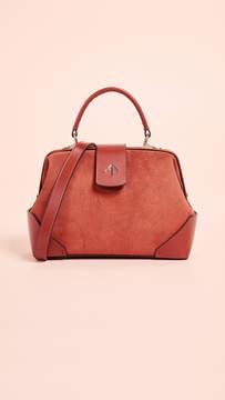Atelier MANU Suede Frame Bag