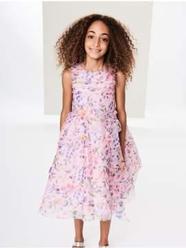 Oscar de la Renta Kids Kids | Spring Field Silk-Organza Dress