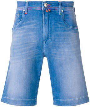 Jacob Cohen knee-length fitted denim shorts