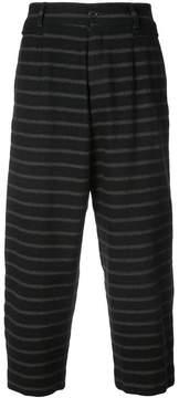 Damir Doma striped drop crotch trousers