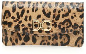 Dolce & Gabbana Dauphine Continental Wallet - LEO CON LOGO|BEIGE - STYLE