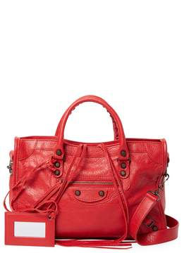 Balenciaga Women's Classic City Leather Satchel