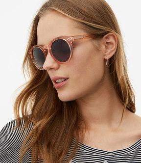 LOFT Round Keyhole Sunglasses