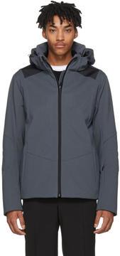 Fendi Grey Bag Bugs Hooded Jacket