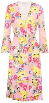 Etro Floral-printed wrap dress