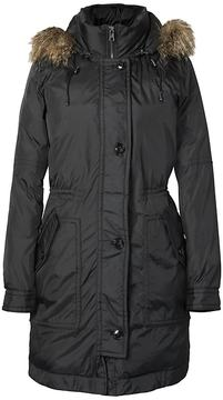 Banana Republic Water-Resistant Parka with Removable Hood
