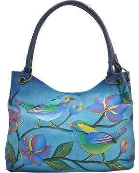 Anuschka Anna By ANNA by Hand Painted Medium Magnetic Satchel 8091 (Women's)