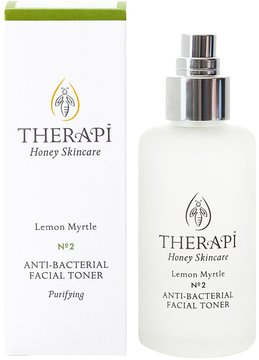 Therapi Honey Skincare Lemon Myrtle Anti-Bacterial Facial Toner