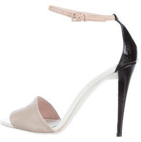 Narciso Rodriguez Lizard Strap Sandals