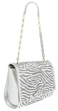 Roberto Cavalli Medium Shoulder Bag Audrey Silver Shoulder Bag.