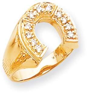 Ice 14k AA Diamond men's ring