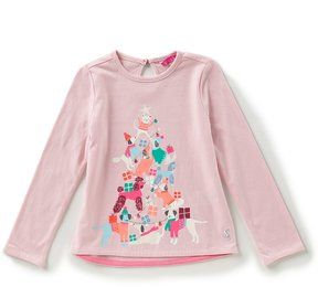 Joules Little Girls 1-6 Christmas Tree Long-Sleeve Top