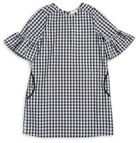 Soprano Girl's Gingham Cotton Dress