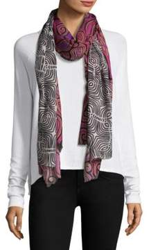 Bindya Paisley and Geometric Scarf
