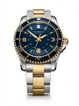 Victorinox Maverick Two-Tone Stainless Steel Bracelet Watch