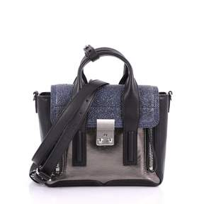 3.1 Phillip Lim Pashli Blue Stingray Handbag
