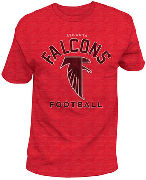 Authentic Nfl Apparel Men's Atlanta Falcons Midfield Retro T-Shirt