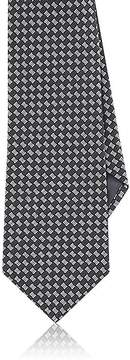 Giorgio Armani Men's Checked Silk Necktie