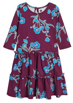 Tea Collection Toddler Girl's Marjorie Tiered Dress