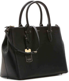 Lauren Ralph Lauren Women's Winford Leather Satchel
