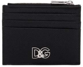 Dolce & Gabbana metal logo cardholder